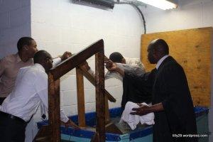 Brother Josh gets Baptized