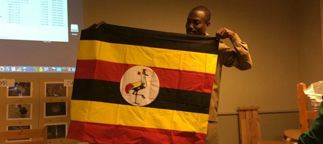 Ugandas flag