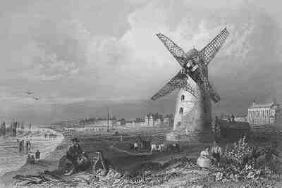Lytham Windmill 1840