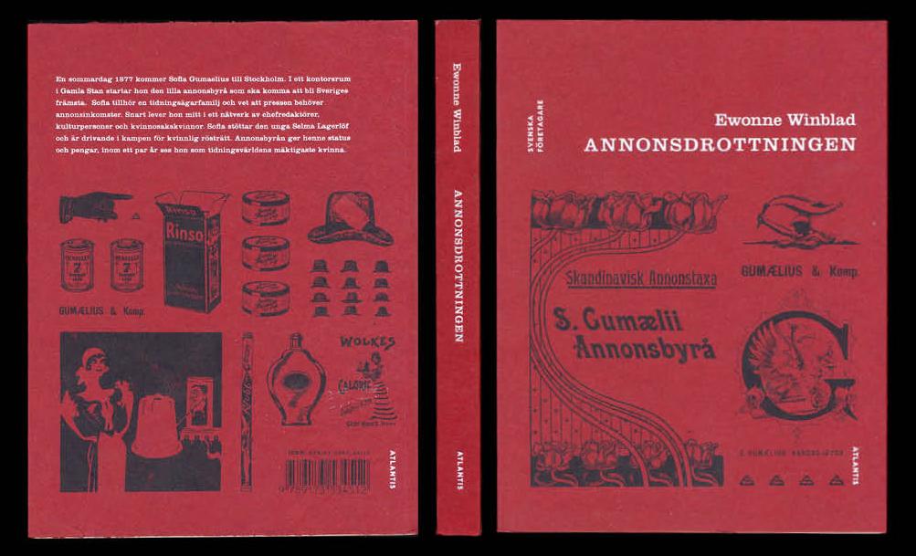 Annonsdrottning (bok om Sofia Gumaelius) av Ewonne Winblad