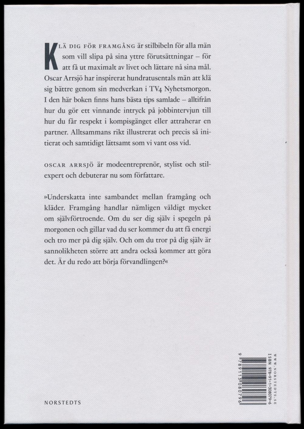 Klä dig för framgång med Oscar Arrsjö