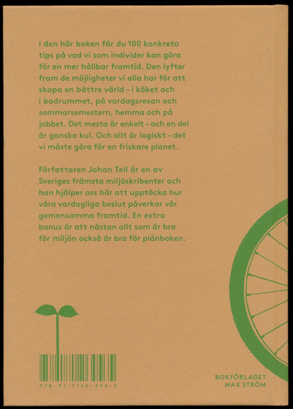 Ekologik av Johan Tell, form av Lukas Möllersten (Lyth & Co), utgiven av Max Ström