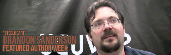 brandon sanderson featured week