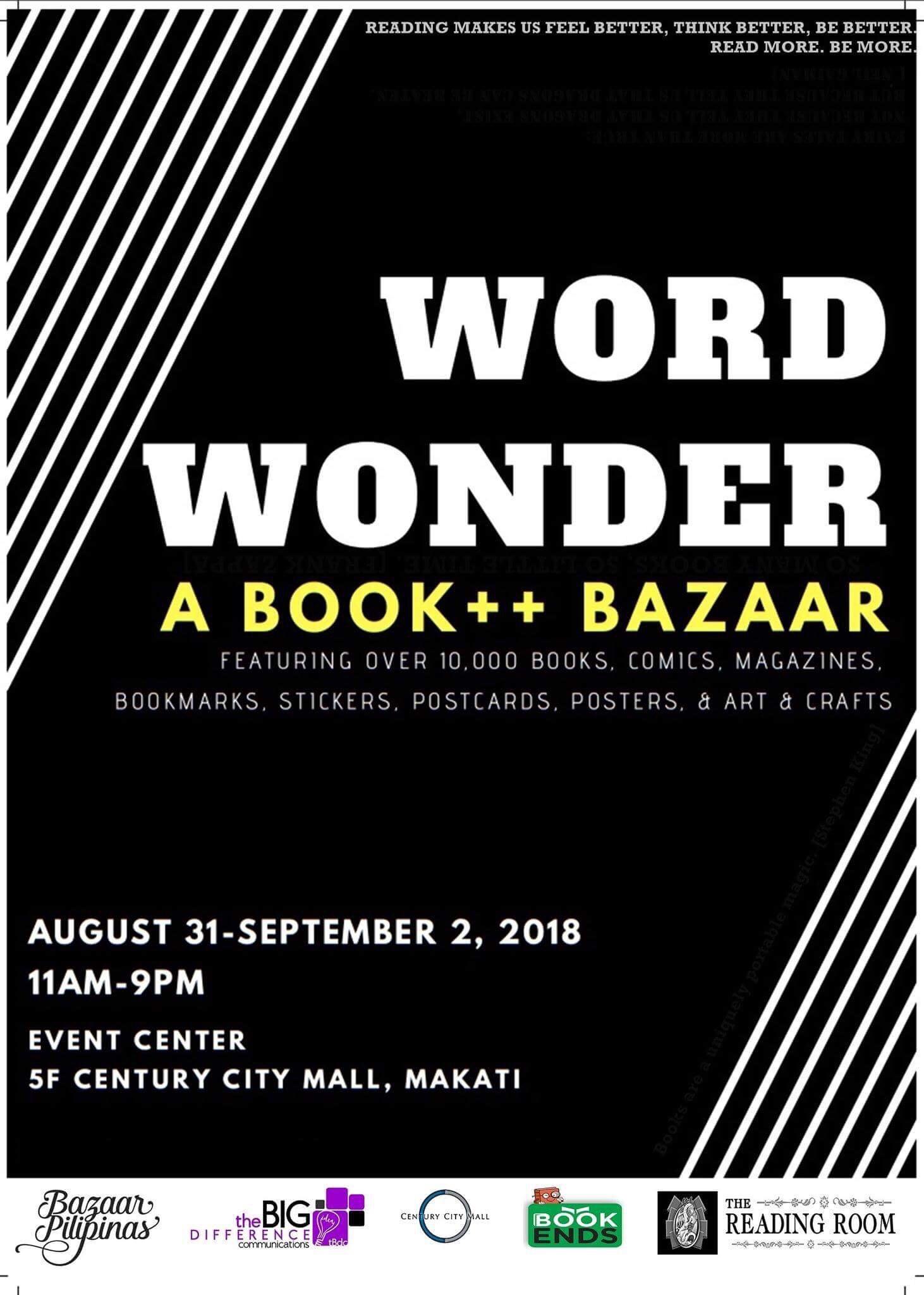 Word Wonder: A Book++ Bazaar