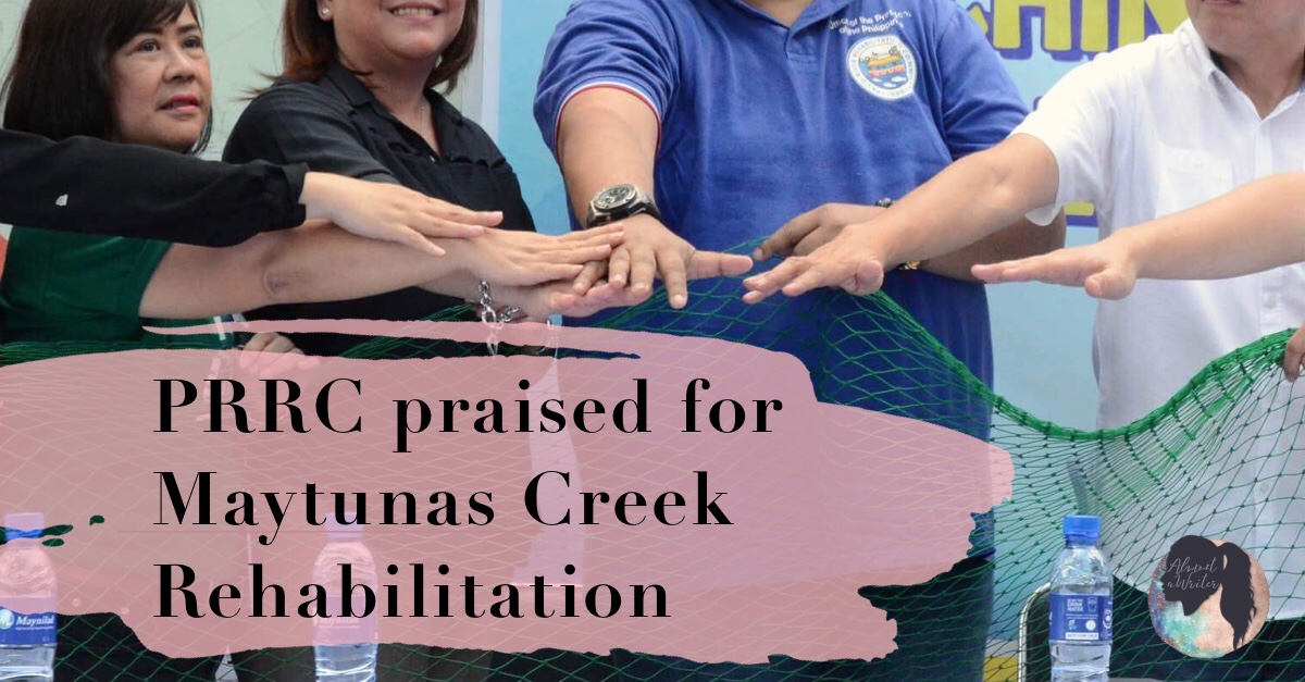 PRRC praised for Maytunas Creek Rehabilitation