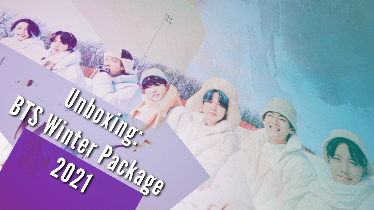 [VLOG] BTS (방탄소년단) 2021 Winter Package Unboxing | Lyza Benedicto