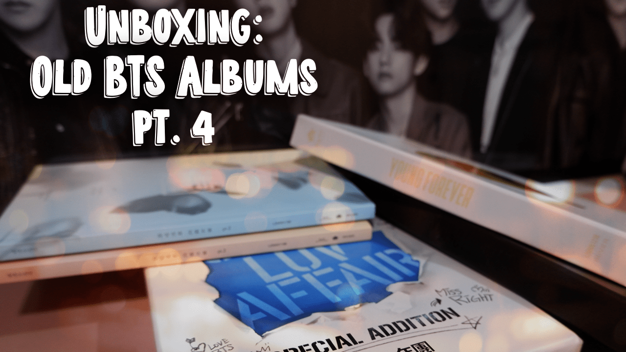 Unboxing Old BTS (방탄소년단) Albums (Part 4) | FINALLY!!! Completed Albums!!!!