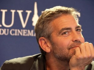 "George Clooney, Festival de Deauville press conference for Michael Clayton, September, 2007. (Photo attribution: ""2007-Michael Clayton-George Clooney102824"" by Vinya - travail personnel pour le site Deauville's Festival. Licensed under Creative Commons Attribution-Share Alike 3.0-2.5-2.0-1.0 via Wikimedia Commons - http://commons.wikimedia.org/wiki/File:2007-Michael_Clayton-George_Clooney102824.JPG#mediaviewer/File:2007-Michael_Clayton-George_Clooney102824.JPG)"