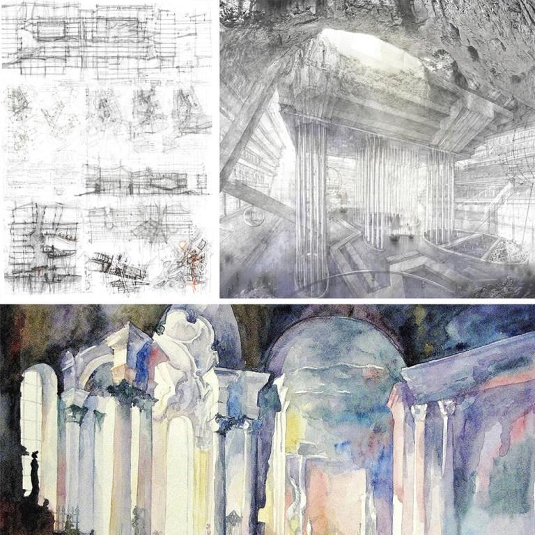 проект архитектура гидрологический кластер рисунок конкурс