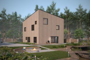 Проект Т1-1 пассивный дом главный вид