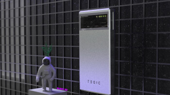 Tegic puts the sexy in Power Banks with a cool window for viewing the circuitry 2