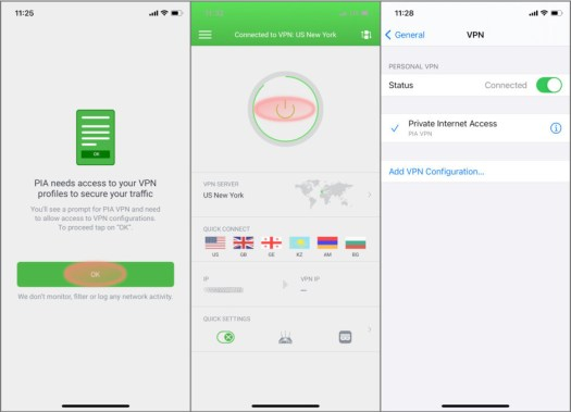 One-tap setup, VPN auto-added in settings - How to protect your smartphone with a VPN