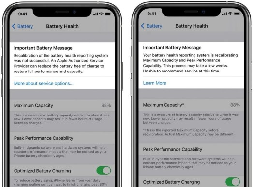 Apple iPhone 11 series users will receive messages throughout the battery recalibration process - Upcoming iOS update adds a feature that recalibrates the battery on iPhone 11 series units