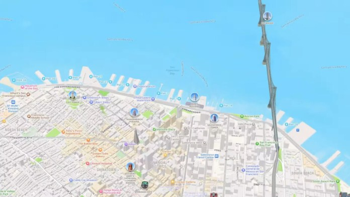 iOS 15 brings extra features to Apple Maps