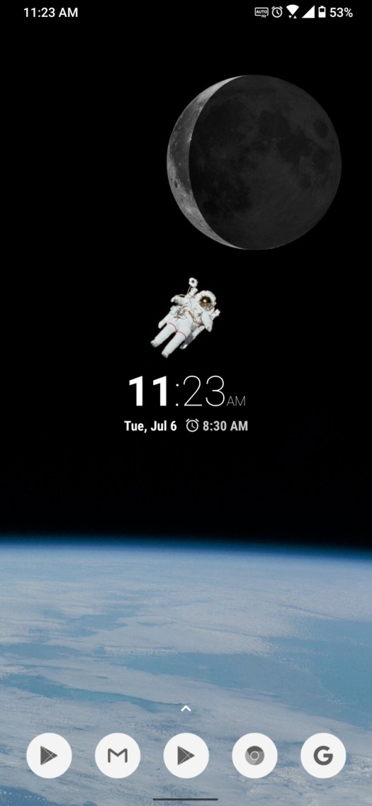 And with this icon pack, our space theme is complete! - Android Refresh Tuesdays – Space theme