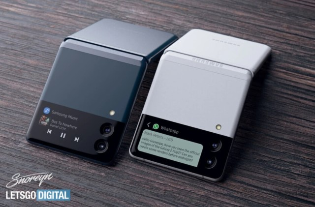 The Samsung Galaxy Z Flip 4 may feature a rotating main camera