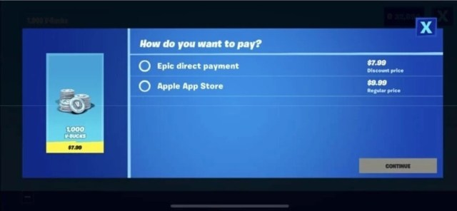 Under the settlement, Apple will allow Epic to promote its own payment platform outside of the Fortnite app - Apple's settlement with app developers brings major changes to App Store policy