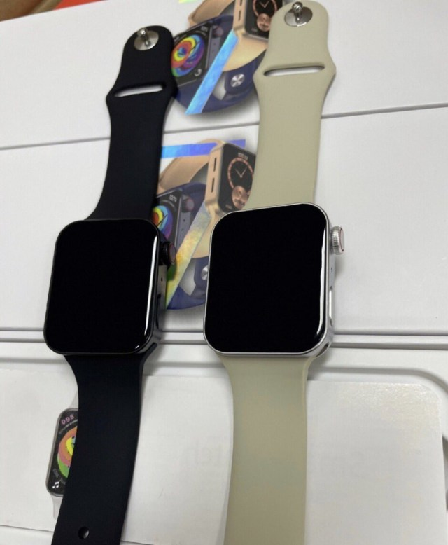 Stainless steel version of China's Apple Watch Series 7 clone - Apple Watch Series 7 clone gives us a good look at what the real thing will look like