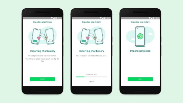Transfer your WhatsApp chat history from the iPhone to a compatible Samsung - WhatsApp rolls out feature allowing users to transfer chat history from iPhone to Samsung device