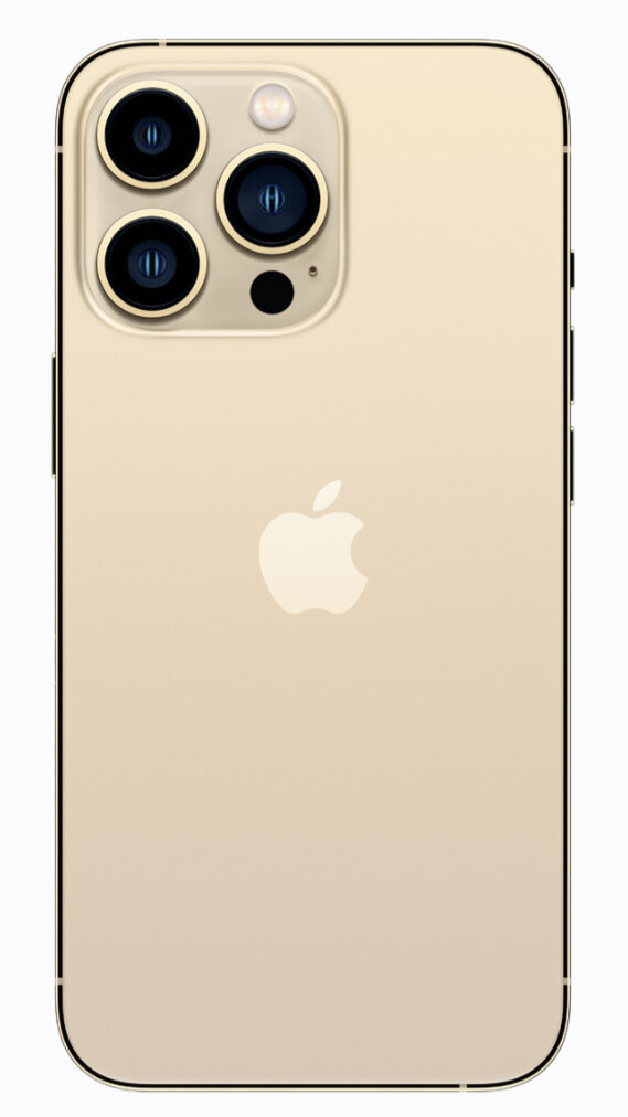 Gold - iPhone 13 Pro and 13 Pro Max announced with 120Hz, bigger batteries and Pro camera features