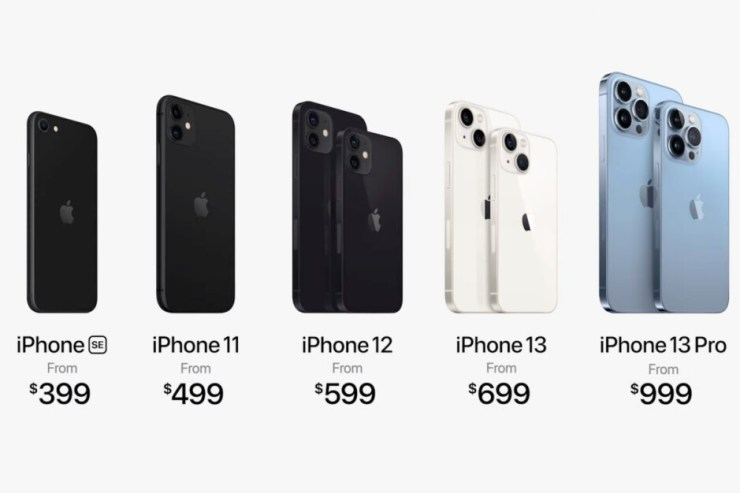 Apple squeezes the iPhone 11 and both the iPhone 12 and 12 mini 5G in its late 2021 lineup