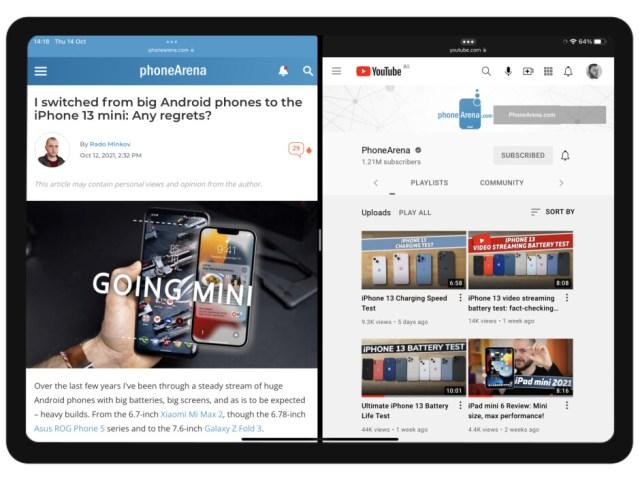 iPadOS 15 Split View multitasking - iPadOS 16 concept: Apple, here's how iPad multitasking should be
