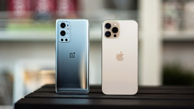 OnePlus 9 Pro and iPhone 12 Pro Max: