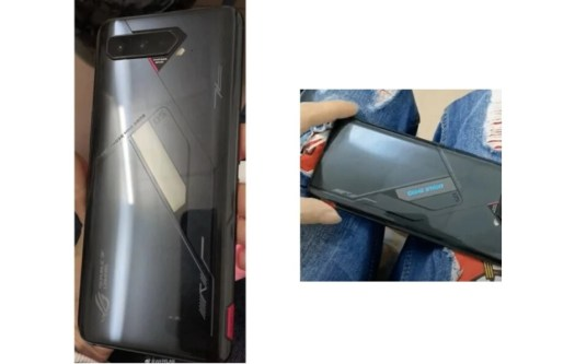 The back of the Asus ROG Phone 5 as seen in leaks - Asus ROG Phone 5 preview: what to expect