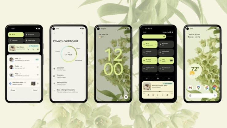 Android 12's Material You design language - Google Pixel 6 Pro vs iPhone 13 Pro compared: Quite a difference!