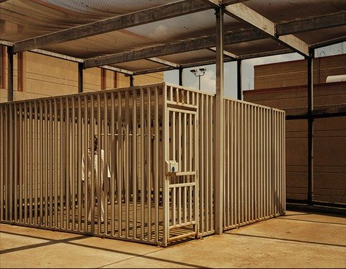 "Death Row Outdoor Recreational Facility, ""The Cage"" 