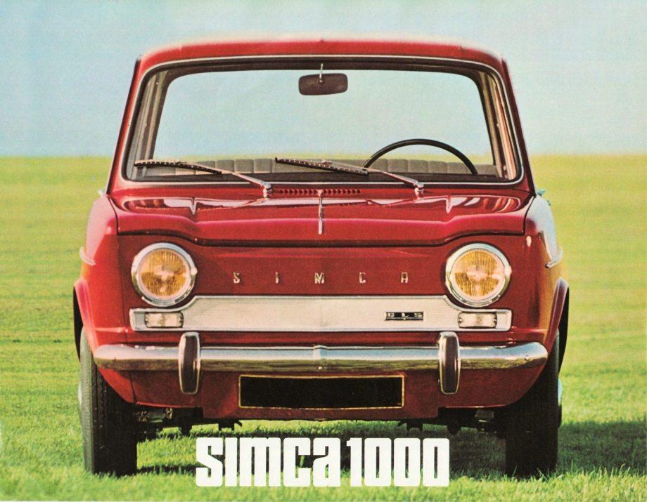 Simca 1000 01