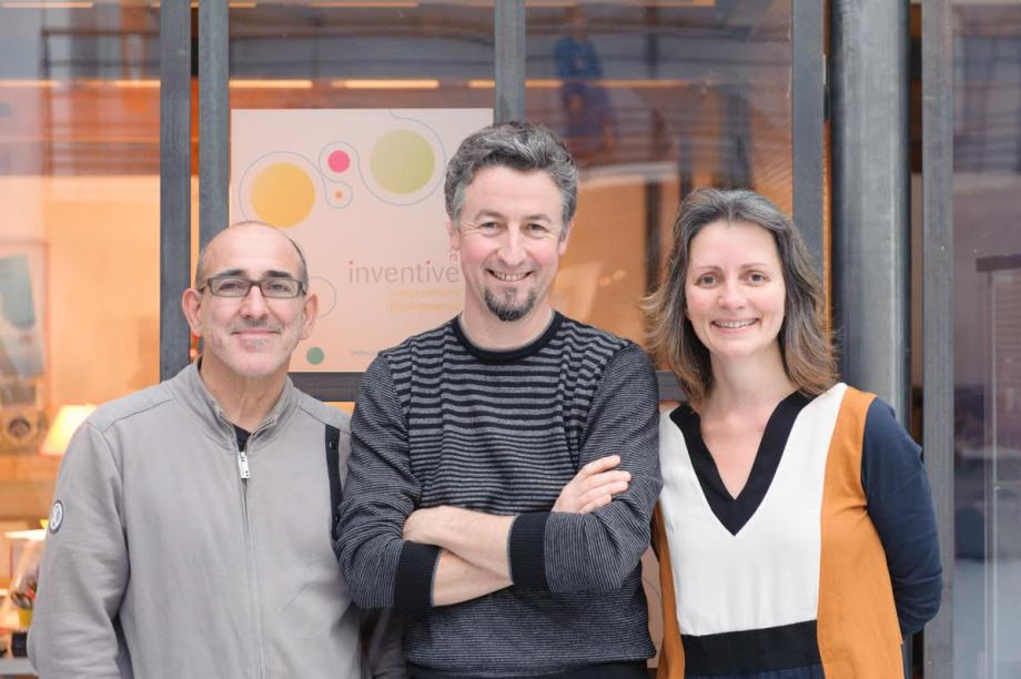 Agence Inventive avec Jacques Bertrand, Jeremy Gabard et Mireille Thibault
