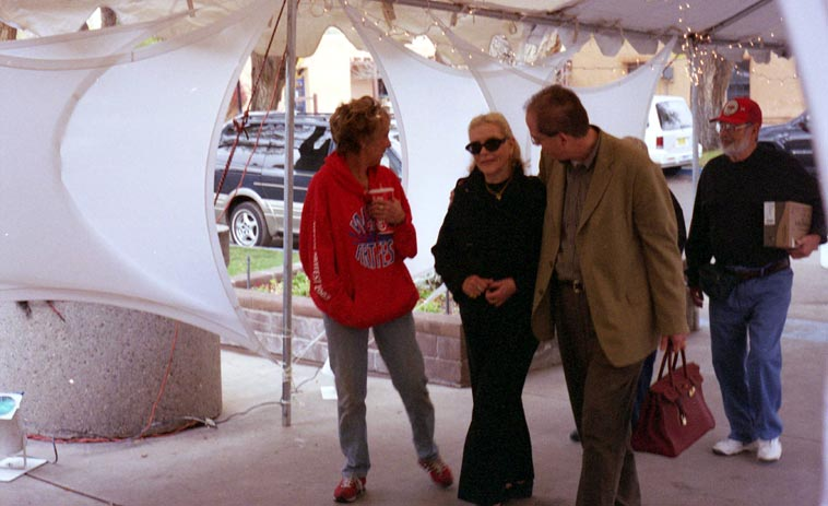 Lauren Bacall -- November 14, 2003 Albuquerque -- photo by Mark Weber