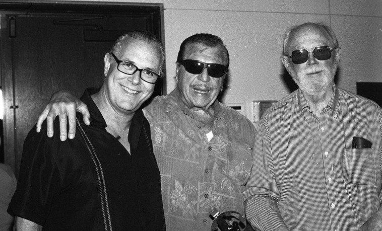 Doug Webb, Gene Cipriano, Gary Foster -- May 31, 2o14 -- photo by Mark Weber