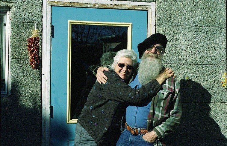 Troubadours: Jeanie McLerie & Ken Keppeler at Fiddle Hill -- February 6, 2008 -- photo by Mark Weber