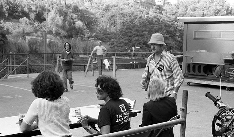 Don Menza -- Hollywood Bowl Playboy Jazz Festival -- June 21, 1980 -- photo by Mark Weber