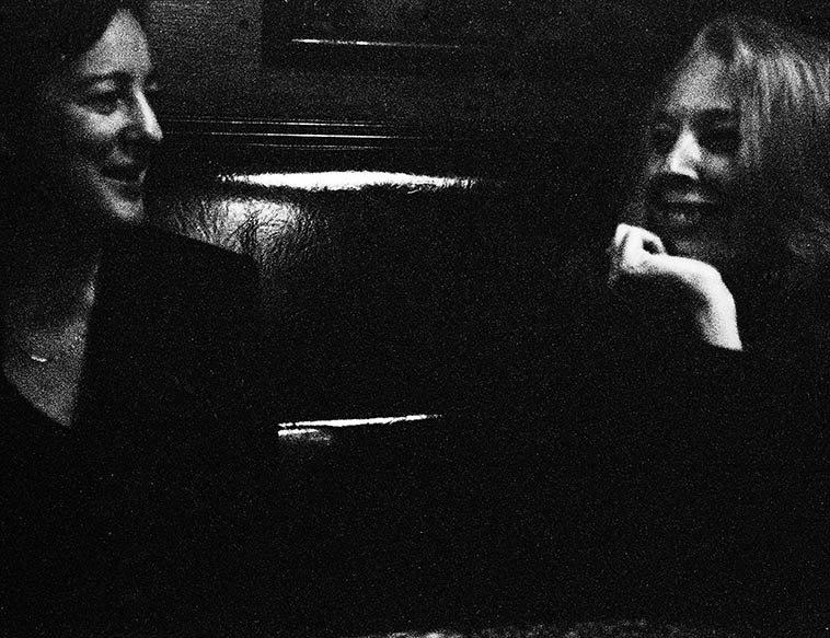 Eva Lindal and Kazzrie Jaxen -- Lower East Side NY -- September 20, 2009 -- photo by Mark Weber