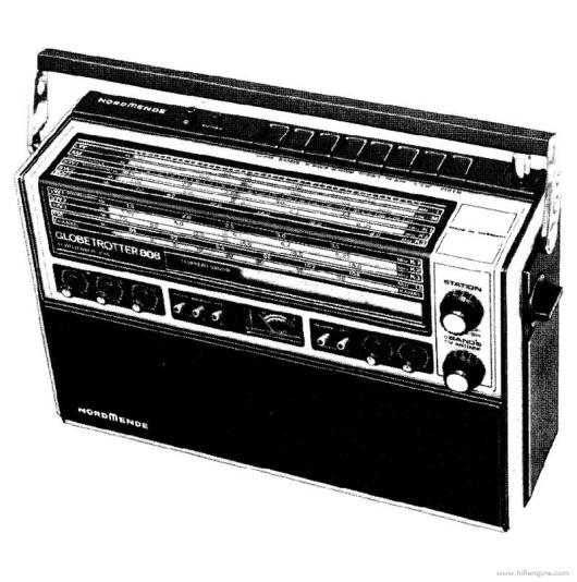 nordmende_globetrotter_808_transistor_radio