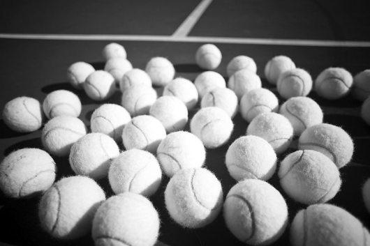 used-tennis-balls