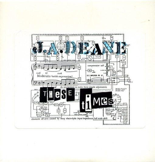 J.A. Deane - These Times ; cover