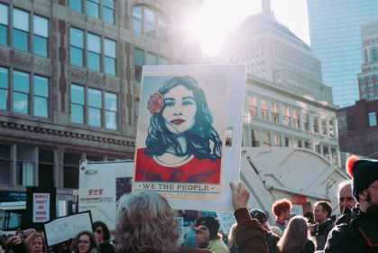 Woman's March, We are the people, feminism's