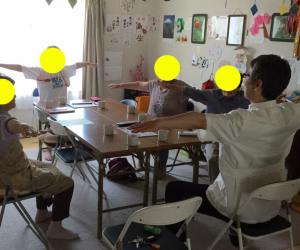 仮設住宅・健康軽スポーツ交流会