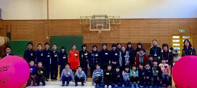 【新里小学校レクリエーションに参加!】