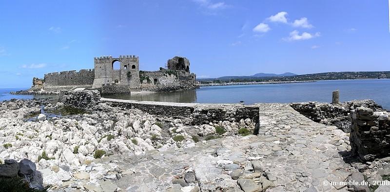 Die Festung von Methoni