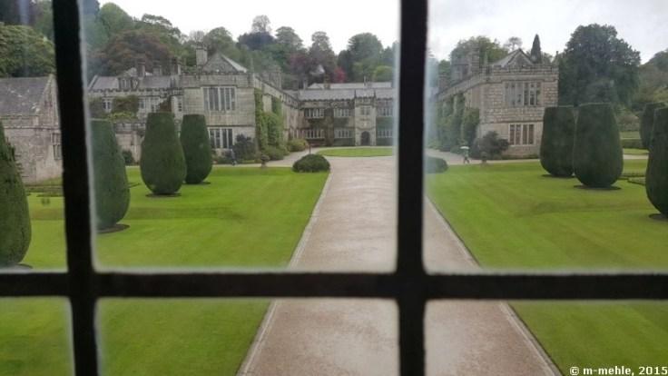 Lanhydrock House, Blick in den Garten