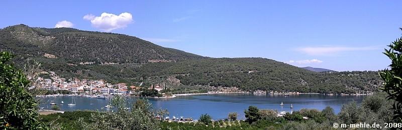 Blick auf Nea Epidauros