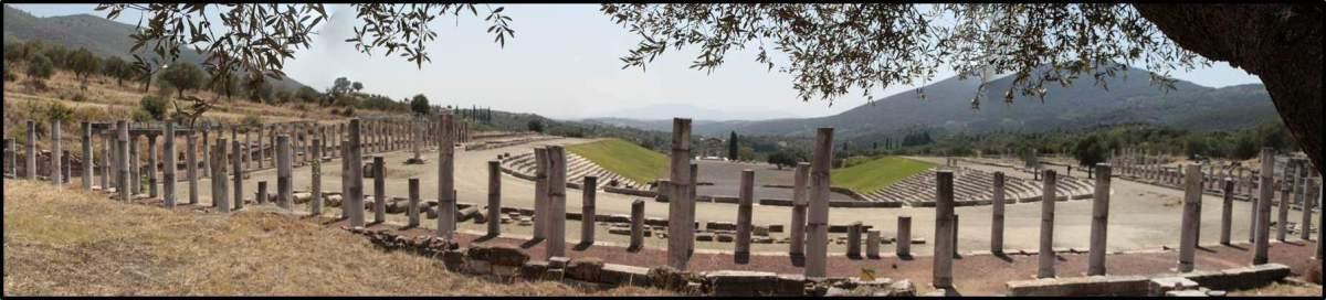 Stadion des antiken Messeniens