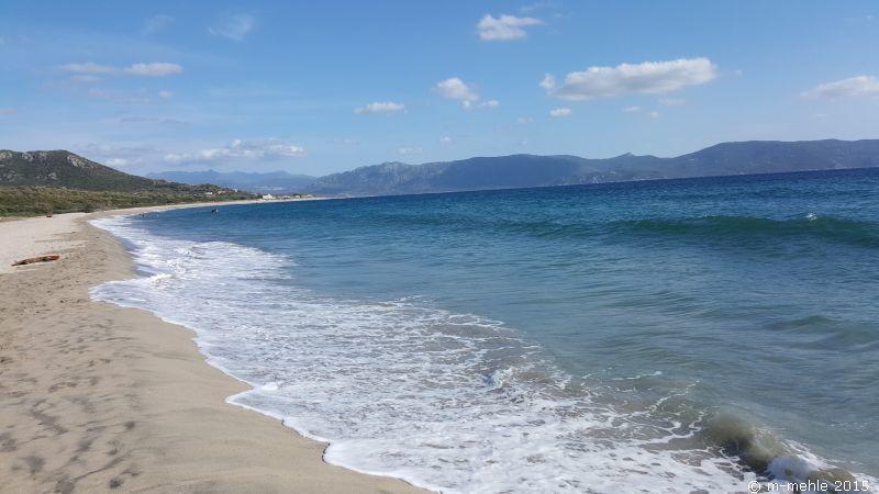 Strandblick Richtung Proprianio