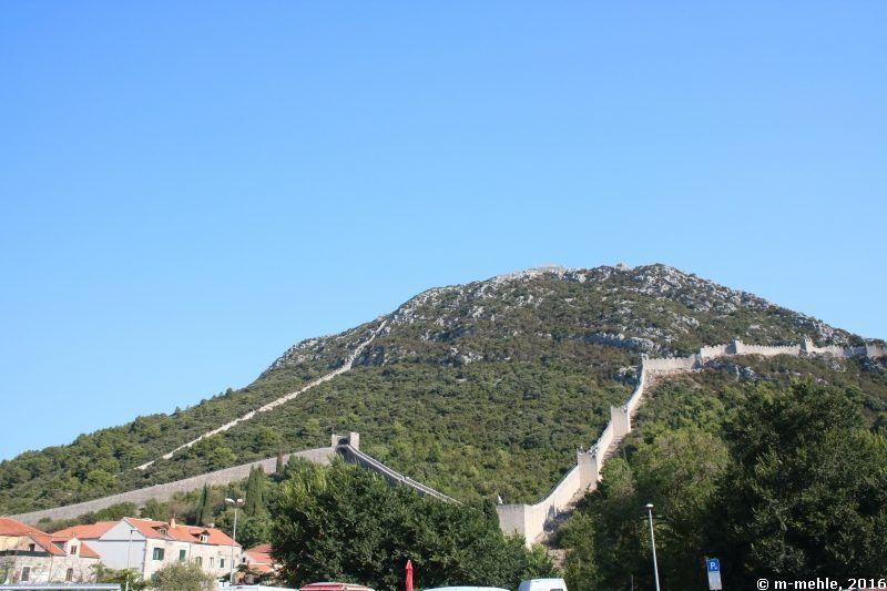 Die Mauer von Ston