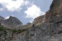 Zum mystischen Wasserfall des Styx